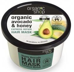 Organic Shop  Maska do włosów z avocado 250ml