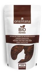 Orientana Bio henna  do włosów gorzka czekolada  100g