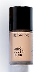 PAESE Long Cover Fluid  Podkład kryjący o przedłużonej trwałości 03 Złoty beż