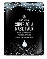 PAX MOLY Super Aqua Mask Pack Nawilżająco-uelastyczniająca maska w płachcie z wodą morską i adenozyną 25ml