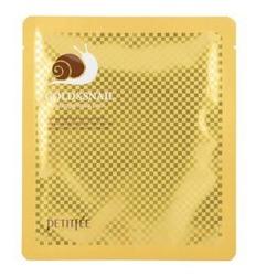 PETITFEE Gold&Snail Hydrogel Mask pack Hydrożelowa maska do twarzy ze złotem i śluzem ślimaka 30g