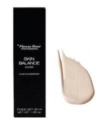 Pierre Rene Skin Balance Cover Fluid Foundation - Podkład kryjący niedoskonałości 20 Clear Light, 30 ml