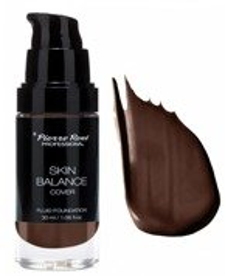 Pierre Rene Skin Balance Cover Fluid Foundation Podkład kryjący niedoskonałości 32 Dark Chocolate 30ml