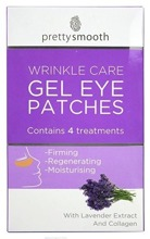 Pretty Gel Eye Patches Wrinkle Care - Płatki żelowe pod oczy 4pary