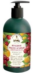 Receptury Agafii Mydło W Płynie Do Rąk I Ciała Owoce Leśne 500 ml