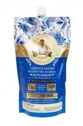 Receptury Babuszki Agafii Wzmacniający brzozowy szampon do włosów ZAPAS 500ml