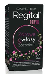 Regital Forte Zdrowe włosy&paznokcie 60 tabletek