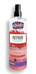 Ronney Dwufazowa Mgiełka REPAIR THERAPY do włosów suchych/zniszczonych 475ml