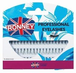 Ronney Professional Eyelashes Kępki sztucznych rzęs bez węzełka 60 szt. RL 00038