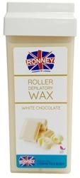 Ronney Roller Depilatory Wax Wosk do depilacji WHITE CHOCOLATE