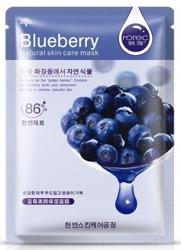 Rorec Blueberry Maseczka nawilżająca w płacie z ekstraktem z jagód 30g