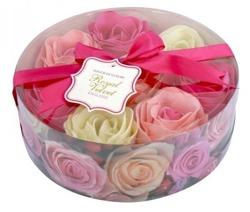 Royal Velvet Konfetti mydlane o zapachu róży Mix 8x16g