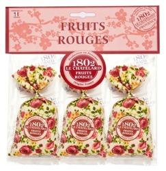 Satis Zestaw 3 woreczków zapachowych Czerwone Owoce