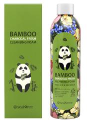 SeaNtree Bamboo Charcoal Fresh Cleansing Foam Pianka do mycia twarzy 250ml