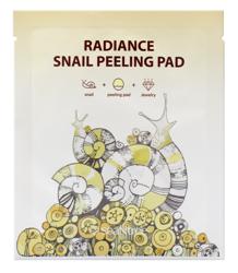 SeaNtree Radiance Snail Peeling Pad Peeling do twarzy w płachcie