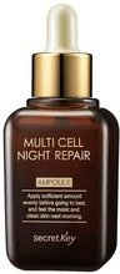 SecretKey Multi Cell Night Repair Ampoule Ampułka przeciwstarzeniowa na noc 50ml