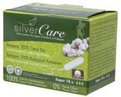 Silver Care Tampony Super bez aplikatora 18szt