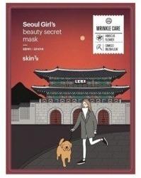 Skin79 Seoul Girl's WRINKLE CARE Przeciwzmarszczkowa maska w płachcie