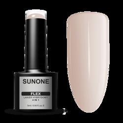 SunOne FLEX 4in1 Lakier hybrydowy Beige 104 5ml