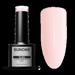 SunOne FLEX 4in1 Lakier hybrydowy Pink 101 5ml