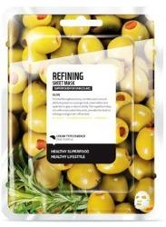 SuperFood For Skin Ujędrniająca maseczka w płachcie Olive