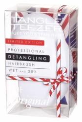 Tangle Teezer Wet and Dry The Original Christmas Limited Edition - Biała szczotka do włosów