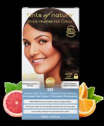 Tints of Nature Farba do włosów 3N Naturalny ciemny brąz