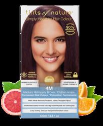 Tints of Nature Farba do włosów 4M Średni mahoniowy brąz