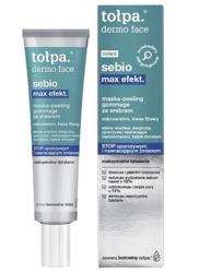 Tołpa Dermo Face Sebio Max Efekt Maska-Peeling gommage ze srebrem 40ml