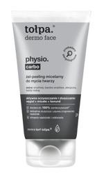 Tołpa Physio Carbo Żel-peeling micelarny do mycia twarzy 150ml