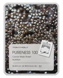 TonyMoly Pureness 100 Caviar Mask NUTRITION maska w płachcie