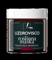 UZDROVISCO Maska roślinna redukująca zmarszczki Czarny tulipan/Lukrecja 50ml