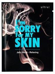 Ultru I'm Sorry For My Skin Jelly Mask - Relaxing Kojąca maska w płachcie 33ml