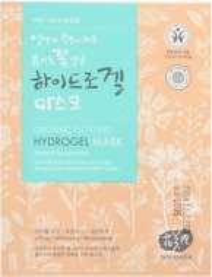 Whamisa Organic Flowers Hydrogel Mask Maska do twarzy 33g