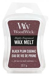 WoodWick Wax Melt Wosk zapachowy BLACK PLUM COGNAC 22,7g