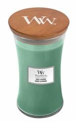 WoodWick świeca duża Sage&Myrrh 610g