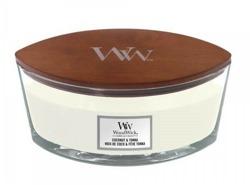 WoodWick świeca elipsa Coconut&Tonka 453,6g