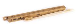 WoodyBamboo Szczoteczka bambusowa Natural średnia/medium