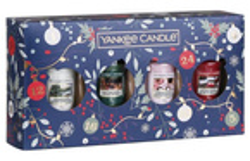 Yankee Candle Countdown To Christmas Zestaw prezentowy 4 świece votive