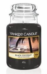 Yankee Candle Słoik duży Black Coconut 623g
