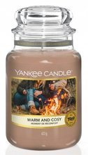 Yankee Candle Słoik duży Warm And Cosy 623g