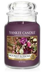 Yankee Candle Świeca zapachowa Słoik duży Moonlit Blossoms 623g
