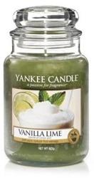 Yankee Candle Świeca zapachowa Słoik duży Vanilla Lime 623g