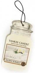 Yankee Candle car jar Odświeżacz samochodowy Fluffy Towels 1 szt.
