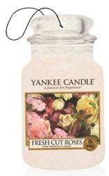 Yankee Candle car jar Odświeżacz samochodowy Fresh Cut Roses 1szt.