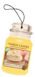 Yankee Candle car jar Odświeżacz samochodowy zawieszka Vanilla Cupcake