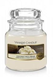 Yankee Candle świeca słoik mały Coconut Rice Cream 104g