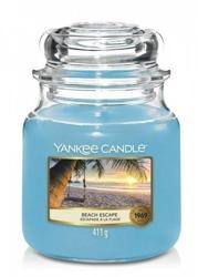 Yankee Candle świeca słoik średni Beach Escape 411g