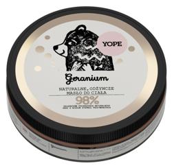 Yope Naturalne masło do ciała odżywcze Geranium 200ml