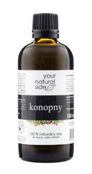 Your Natural Side Olej konopny 100% naturalny 100ml